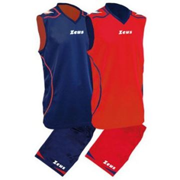 Picture of Zeus Basketball kit Fauno Blank